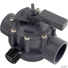 Jandy JDY-56-4047 - Jandy Gray 1 1/2 - 2 Positive Seal 2 Port Valve - 1157