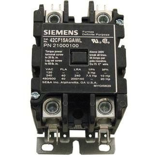 Coates Double Pole Contactor, 50 Amp, 240V - 21000100