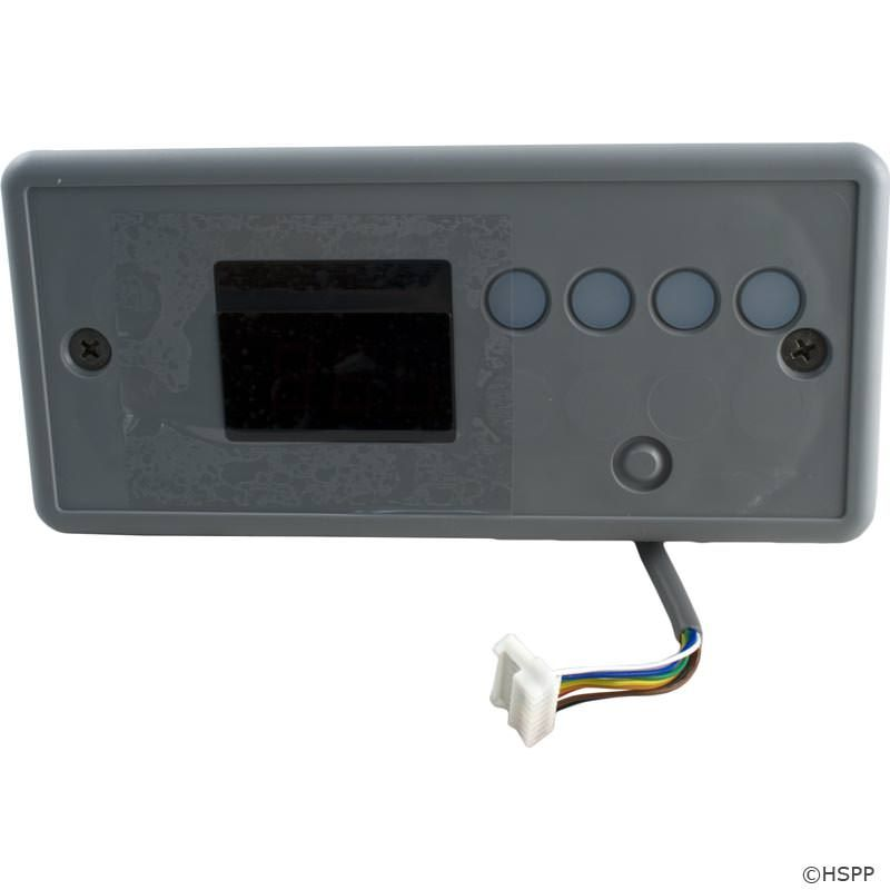 ECO-7 Spa Control Panel 10', Large Rectangle, 4B, No Label - 34-0198-U