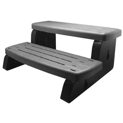 Waterway 33 Inch Spa Step - Coastal Gray