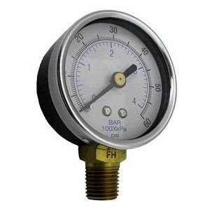 Waterway 830-4000SS Filter Pressure Gauge