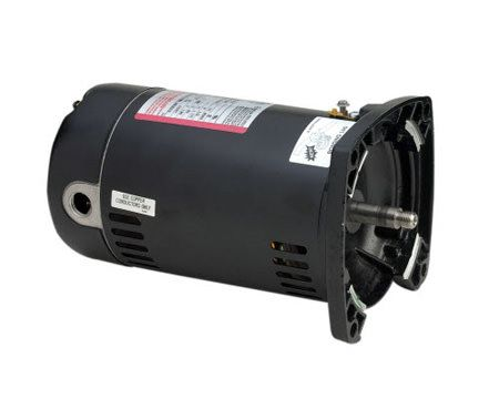 AO Smith AOS-60-5059 - SQ1102 Pool Pump Motor 48Y Frame 1 HP Square Flange 115/230V