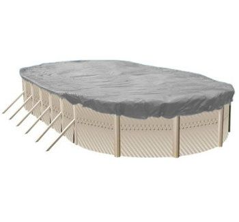 Above Ground Pool Winter Cover For 21 ft x 42 ft Pool 15 yr Warranty