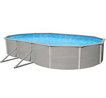 Blue Wave BNDL-BELIZE-OVAL-18x33 - Belize 18x33' Oval Above Ground Pool Kit