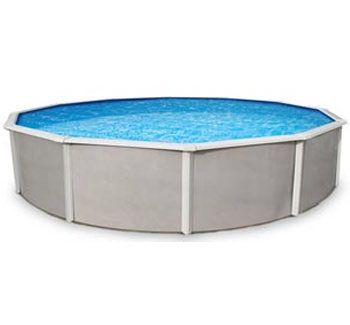 Belize 21' Round Above Ground Pool Kit