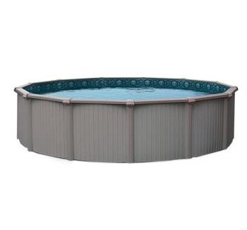 Blue Wave BNDL-BERMUDA-ROUND-24 - Bermuda 24' Round Above Ground Pool Kit