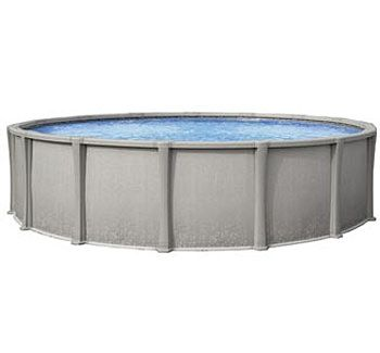 Blue Wave BNDL-MATRIX-ROUND-24 - Matrix 24' Round Above Ground Pool Kit