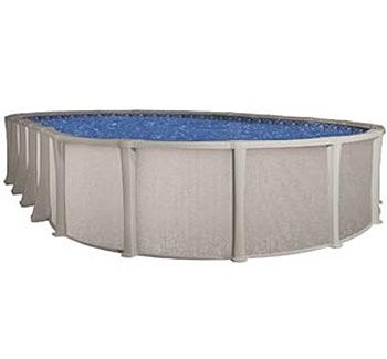 Blue Wave BNDL-MATRIX-OVAL-18X33 - Matrix 18x33' Oval Above Ground Pool Kit
