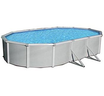 Blue Wave BNDL-SAMOAN-OVAL-18x33 - Samoan 18x33' Oval Above Ground Pool Kit
