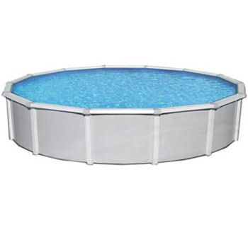 Blue Wave BNDL-SAMOAN-ROUND-24 - Samoan 24' Round Above Ground Pool Kit