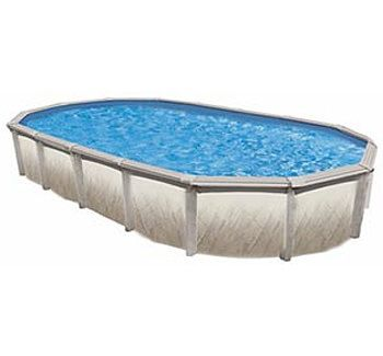 Blue Wave BNDL-TAHITIAN-OVAL-18X33 - Tahitian 18x33' Oval Above Ground Pool Kit
