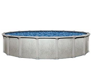 Blue Wave BNDL-TAHITIAN-ROUND-24 - Tahitian 24' Round Above Ground Pool Kit