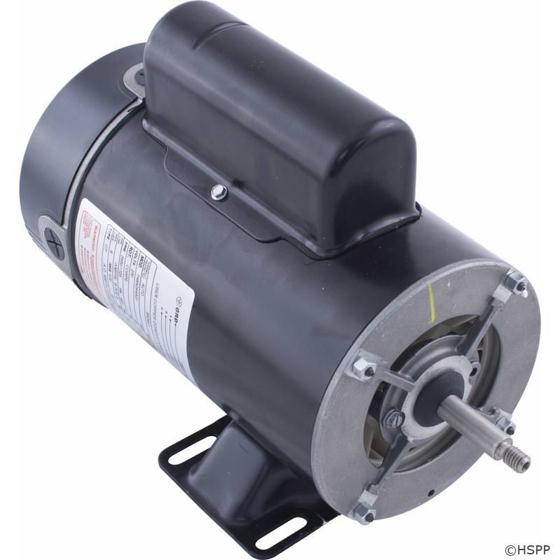 BN34V1 2-Speed 1.5 HP Pump Motor 48Y Frame Thru-Bolt 230V