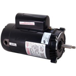 CT1072 3/4 HP Pool Pump Motor 56J Frame C-Face 115-230V - Energy Efficient
