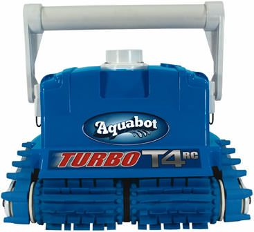 Aquabot Turbo T4 Remote Control Robotic In-Ground Pool Cleaner