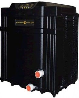 AquaCal SQ120 HeatWave SuperQuiet Pool Heat Pump 113k BTU