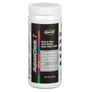 AquaChek Silver 7-Way Chlorine Test Strips