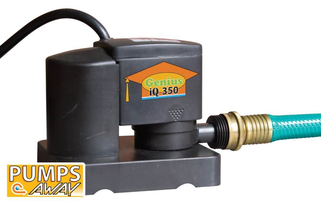 Above Ground Winter Cover Pump w/ Auto On/Off - 350 GPH