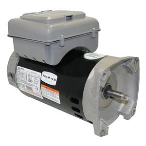 B2982T 2-Speed Pool Pump Motor 56Y Frame 1 HP 230V w/ Integrated Timer