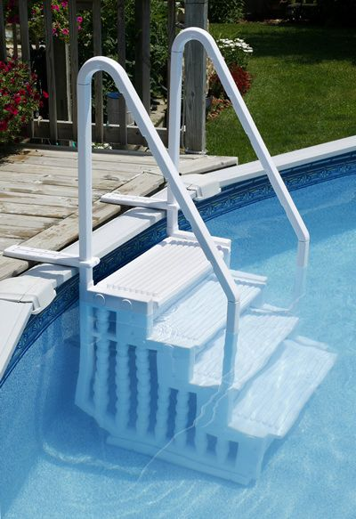 Blue Wave NE113 - Blue Wave Easy Pool Step for Above Ground Swimming Pools - NE113