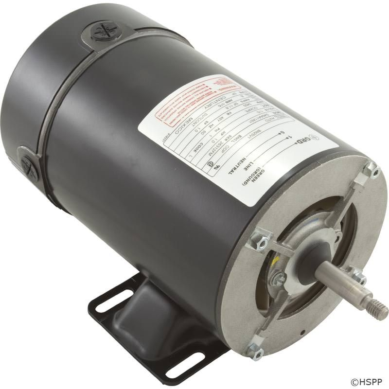 BN25V1 Pump Motor 48Y Frame 1 HP Thru-Bolt 115V