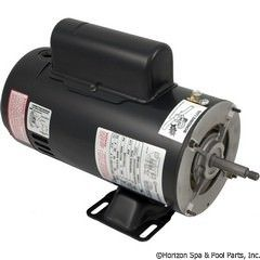 BN61 2-Speed 2 HP Pump Motor 48Y Frame Thru-Bolt Energy Efficient 230V