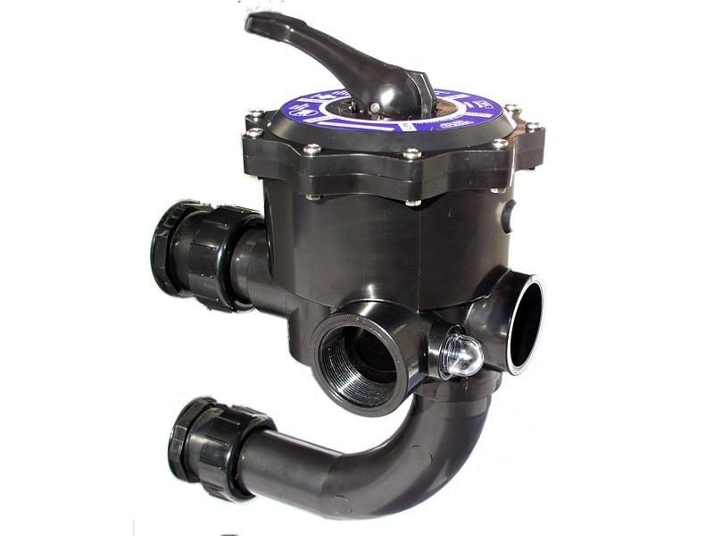 Jandy TLD-06-132 - Jandy Side Mount Multiport Valve for DEV48 & DEV60 DE Filters - BWVL-MPV