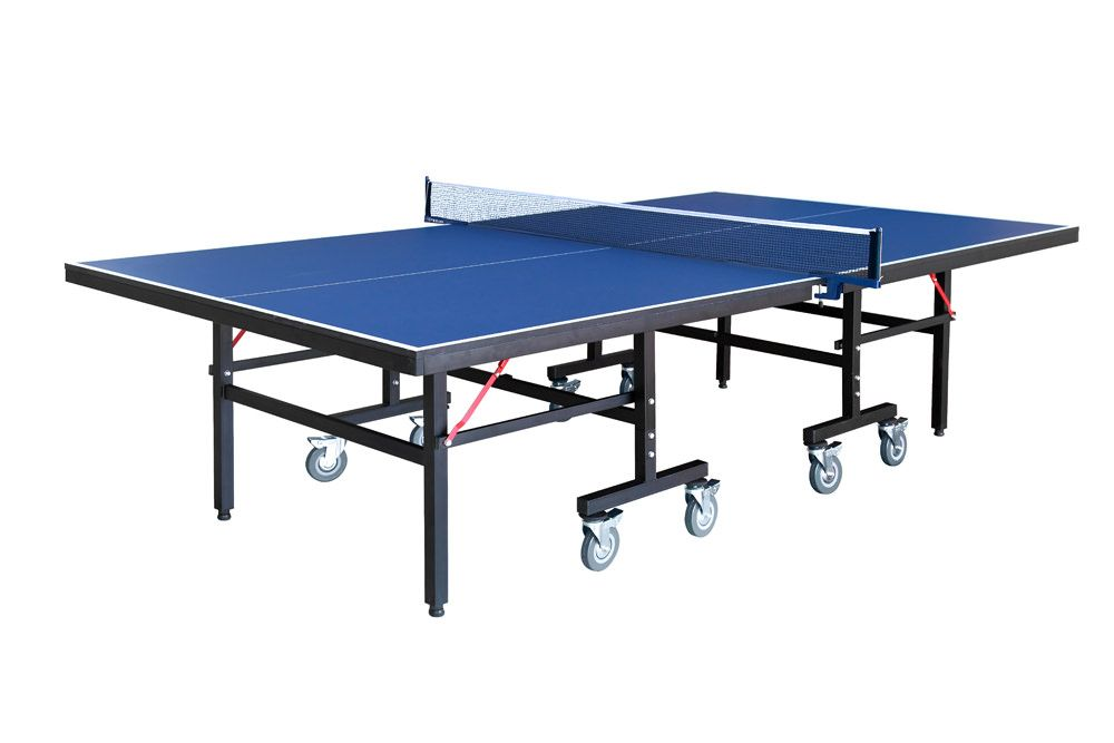 Carmelli 9 Foot Back Stop Table Tennis Table with Accessories