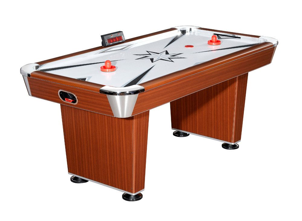 Carmelli Midtown 6 Foot Air Hockey Table with Electronic Scoring