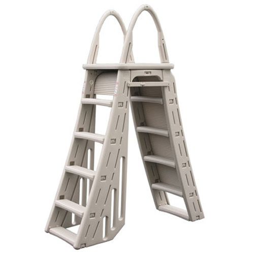 Confer A-Frame Above Ground Pool Ladder with Roll Guard - 7200