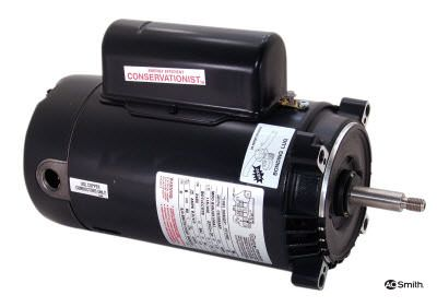 AO Smith AOS-60-5211 - CT1102 1 HP Pool Pump Motor 56J Frame C-Face 115-230V - Energy Efficient