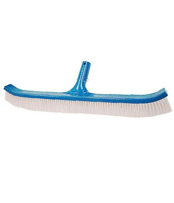 PoolStyle PSL-40-0170 - Curved Poly Bristle Pool Brush - 18 Inch