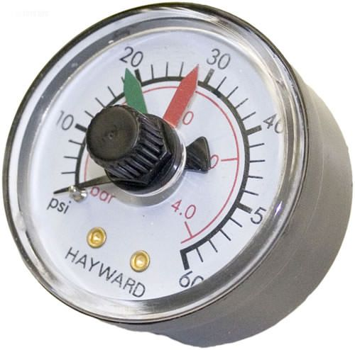 Hayward Pro-Grid / SwimClear Filter Pressure Gauge ECX2712B1