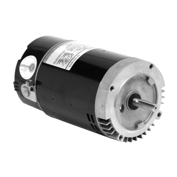 EB654 1 HP Pool Pump Motor 56J Frame C-Face 115-230V - Energy Efficient
