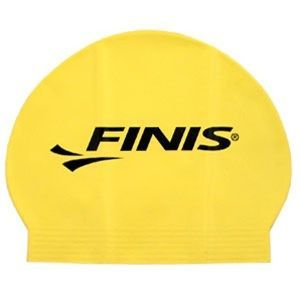 Finis FII-90-YELLOW - Finis Solid Yellow Latex Swim Cap