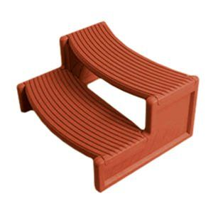 Confer CNF-75-7074 - Handi-Step Redwood Spa Step HS2-R
