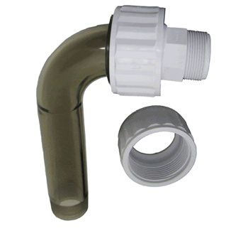 Hayward HAY-051-1513 - Hayward SPX1485BPAK Micro-Star Clear Threaded Elbow Assembly