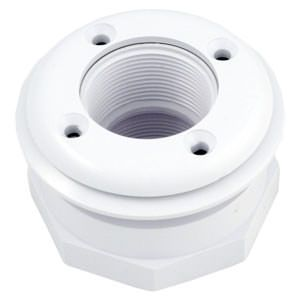 Hayward 1.5 Inch Inlet Fitting for Vinyl Liner / Fiberglass - White SP1408