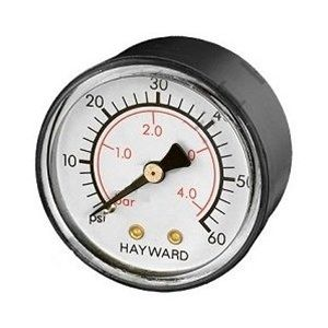 Hayward Back Mount Filter Pressure Gauge ECX27091