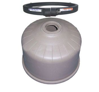 Hayward DE4820 / C4020 Filter Top w/ Clamp DEX4820BTC