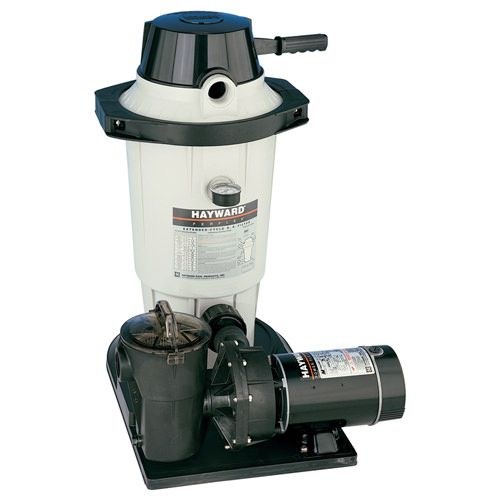 Hayward HAY-05-8001 - Hayward Perflex 20 Sq Ft DE Filter System w/ 1 HP Pump EC40C92S