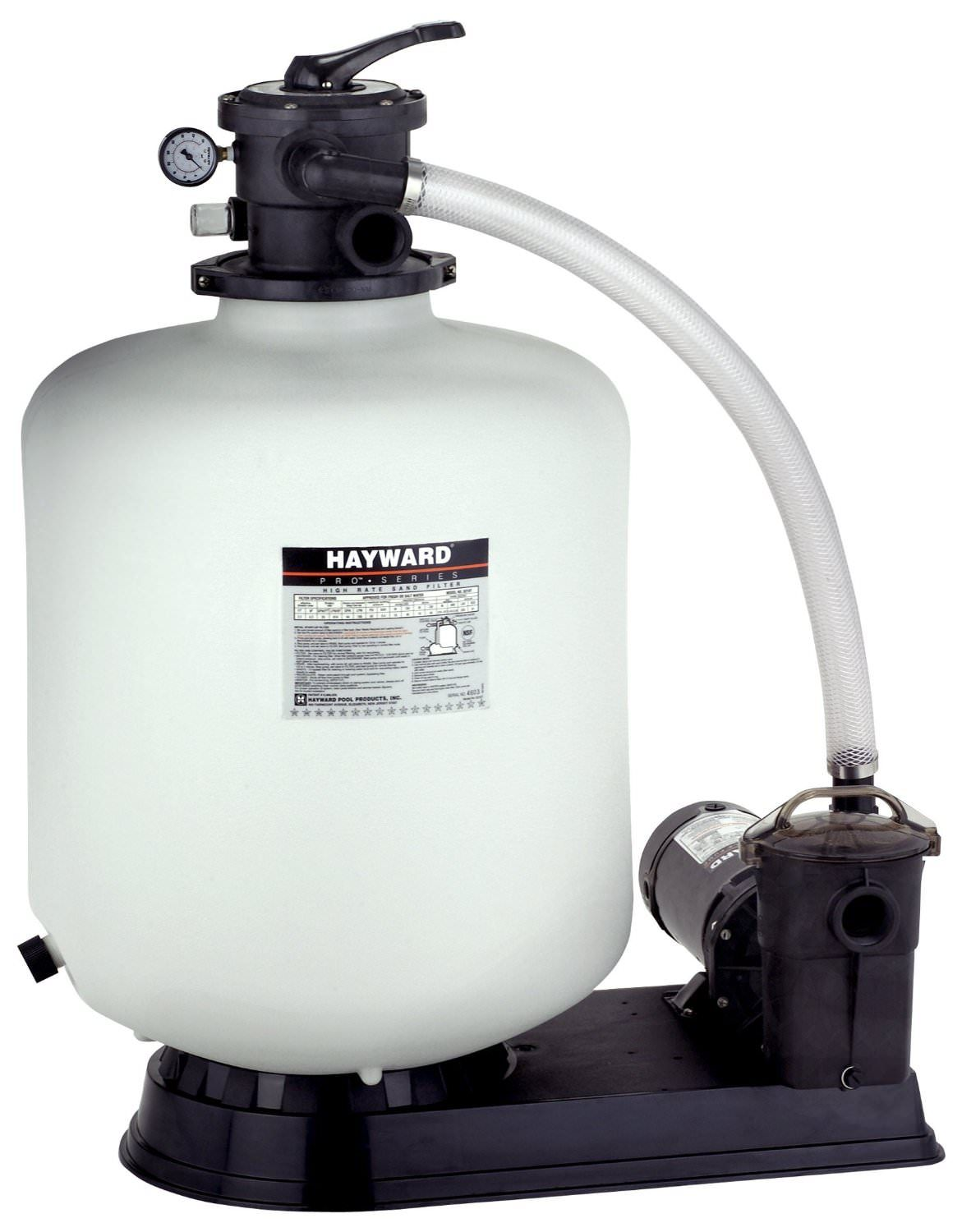 Hayward Pro Series Above Ground Pool 21 inch Sand Filter w/ 1.5 HP Pump
