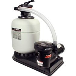 Hayward Pro Series Above Ground Pool 17 inch Sand Filter w/ 1 HP Pump