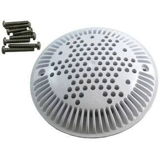 Hayward 8 Inch Anti-Vortex Wall Suction Fitting Cover - White WG1048EW