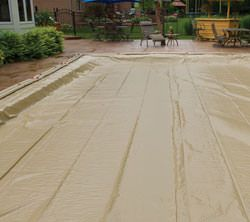 In Ground Pool Winter Cover For 25 ft x 50 ft Pool 20 yr Warranty