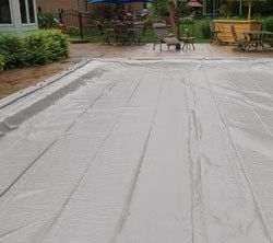In Ground Pool Winter Cover For 25 ft x 50 ft Pool 15 yr Warranty