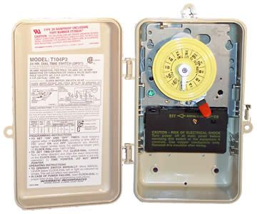 Intermatic INT-30-682 - Intermatic Indoor / Outdoor Pool Timer 220V - T104P3