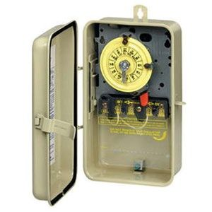 Intermatic Indoor / Outdoor Pool Timer 220V - T104R3