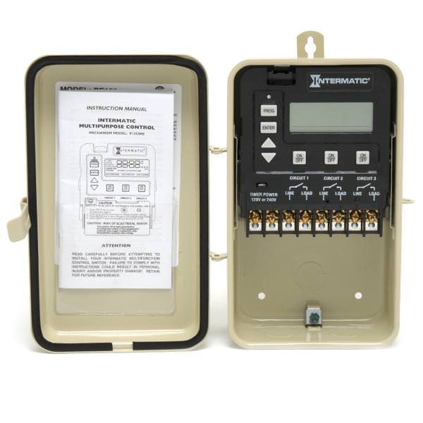 Intermatic Digital Pool Timer - 7-Day - 120/240V - PE153