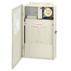 Intermatic Subpanel w/ T104M Timer &amp; 300W Transformer - T40004RT3